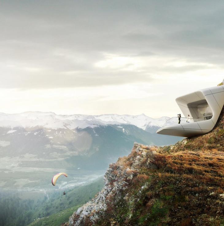 Messner Mountain Museum Corones - Außenansicht