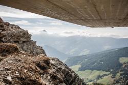 Messner Mountain Museum Corones - Aussicht auf Berge