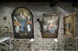 Gebietsmuseum Deutschnofen, Innenansicht Foto L Thalheimer