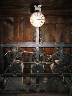 Turmuhr im Weißen Turm