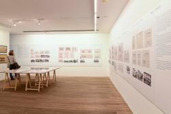 """Kunst Meran Merano Arte, Ausstellung: """"Die Architektur der 20er und 30er Jahre in Meran"""",  2015. Foto: Andreas Marini"""
