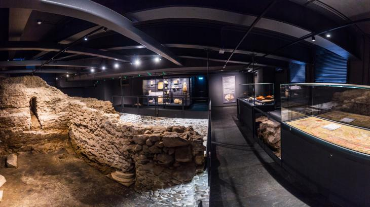 Museum Pons Drusi. Foto Stiftung St. Elisabeth