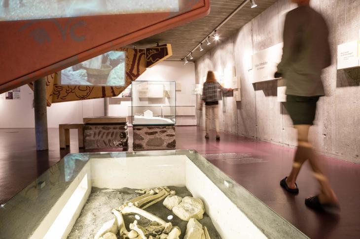 Das Prokulus Museum, Dauerausstellung. Foto Angelika Schwarz-IDM Suedtirol