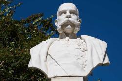 Marmorplus - busto dell'imperatore Francesco Giuseppe
