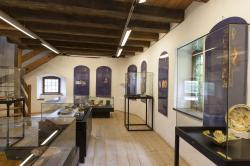 The permanent exhibition of archaeological finds finff Majolica Schaln