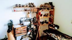 Museo della scuola di Tagusa - La bottega del calzolaio