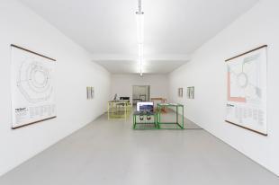 Mostra di Lorenzo Pezzani © ar/ge kunst, Foto Tiberio Sorvillo, 2019