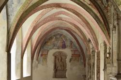 Abbazia Agostiniana di Novacella, chiostro. Foto Albert Ceolan