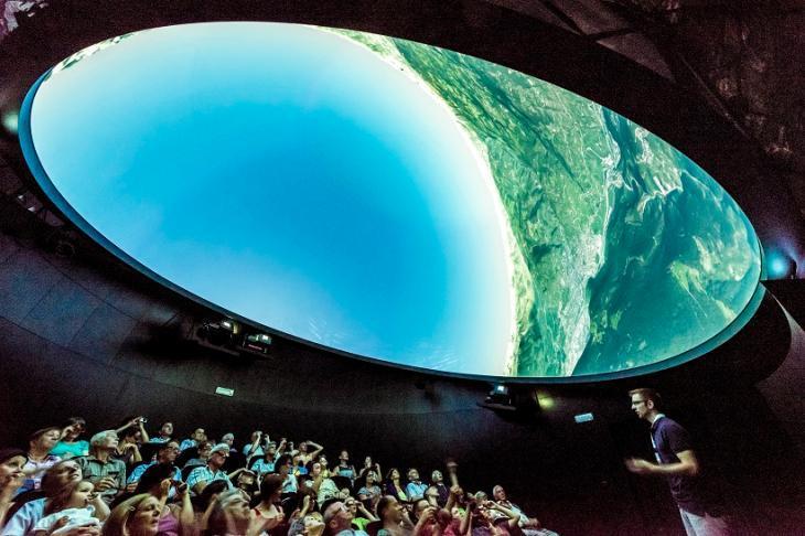 Planetarium South Tyrol © Planetarium Südtirol-Alto Adige  foto-dpi.com
