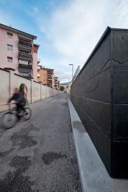 Passage der Erinnerung. Foto Mezzanotte Plattner Architekten