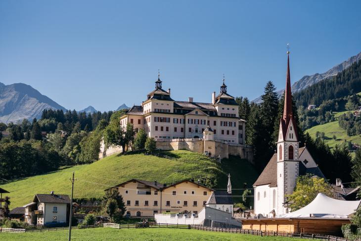 Schloss Wolfsthurn. Foto Gerd Eder