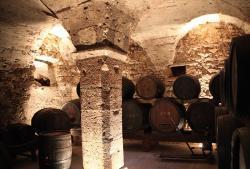 Südtiroler Weinmuseum, tiefe Keller