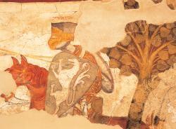 Castle Rodenegg - Iwein epic fresco