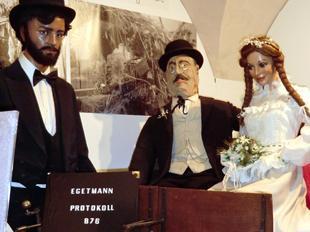 Egetmann mit Braut