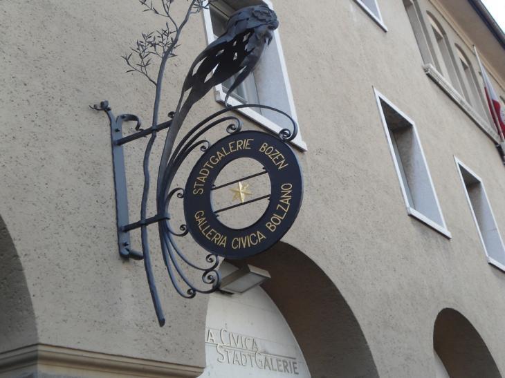 Galleria Civica di Bolzano, facciata