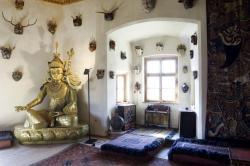 Schloss Juval - Innenansicht Foto L Thalheimer