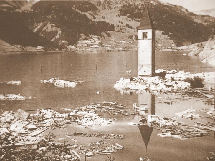 Vintschger Oberland - Foto Archiv Gemeinde Graun