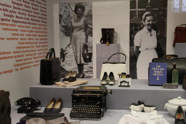 Frauenmuseum, Dauerausstellung Foto Frauenmuseum Meran