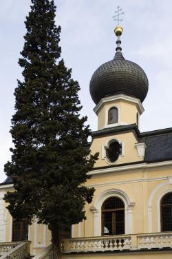 La chiesa di San Nicola Taumaturgo Foto Ludwig Thalheimer