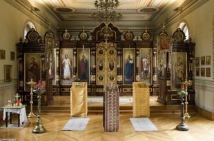 Russisch-orthodoxe Gedenkstätte Nadezhda Ivanovna Borodina Foto L Thalheimer