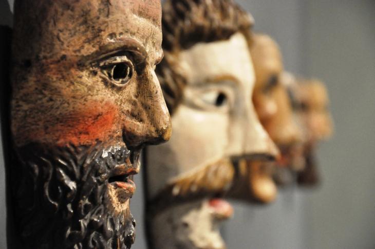 Museo Civico di Bolzano, maschere Foto Museo Civico di Bolzano